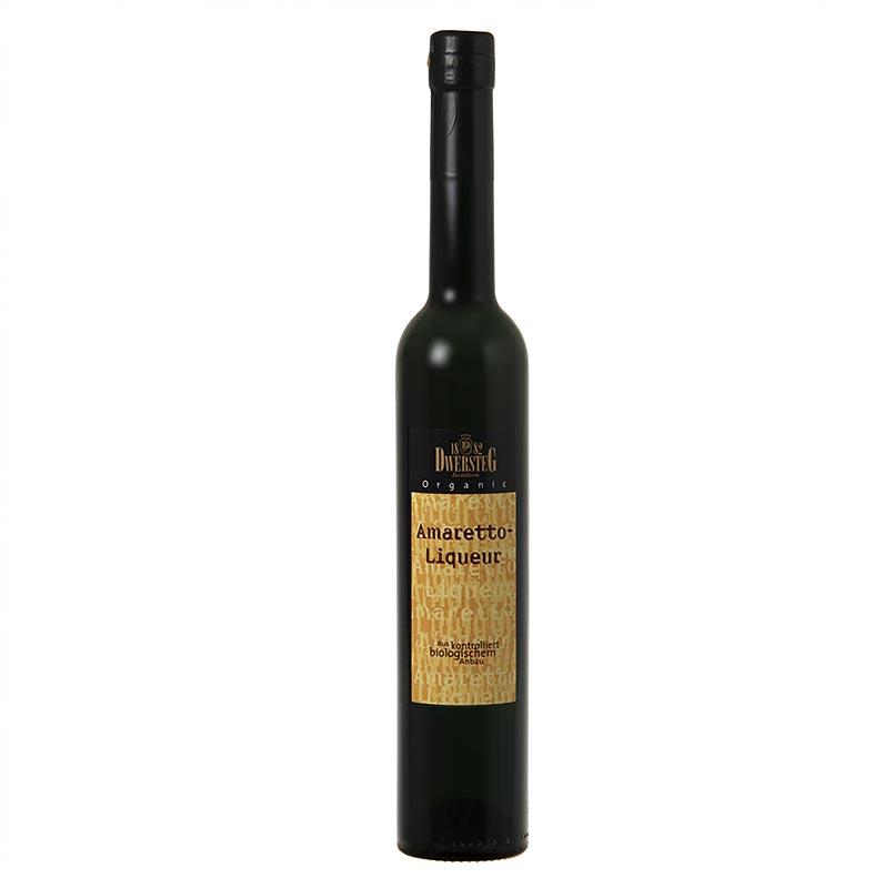 Dwersteg Organic Amaretto-Likör, 20% vol., BIO - 500 ml - Flasche