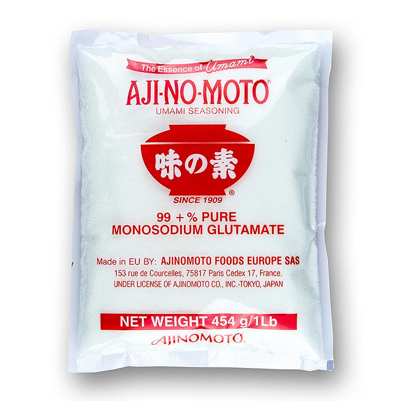 Monosodiumglutamat / Natriumglutamat, E621 - Aji no Moto - 453 g - Beutel
