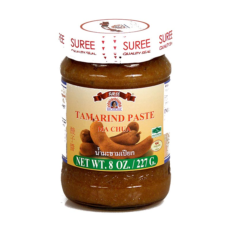Tamarinden Paste, Suree - 227 g - Glas