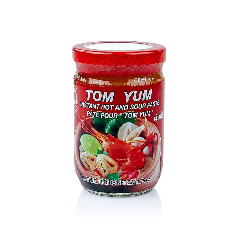 Tom Yum Paste, scharf und sauer für Suppen - 227 g - Glas