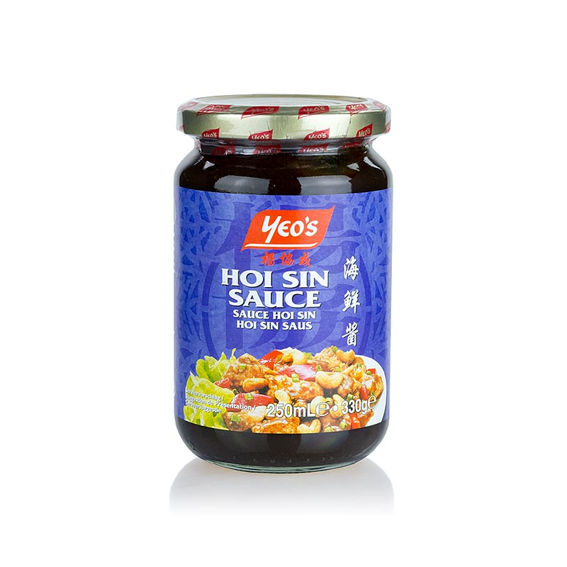 Hoi Sin Sauce, Yeos - 330 g - Glas
