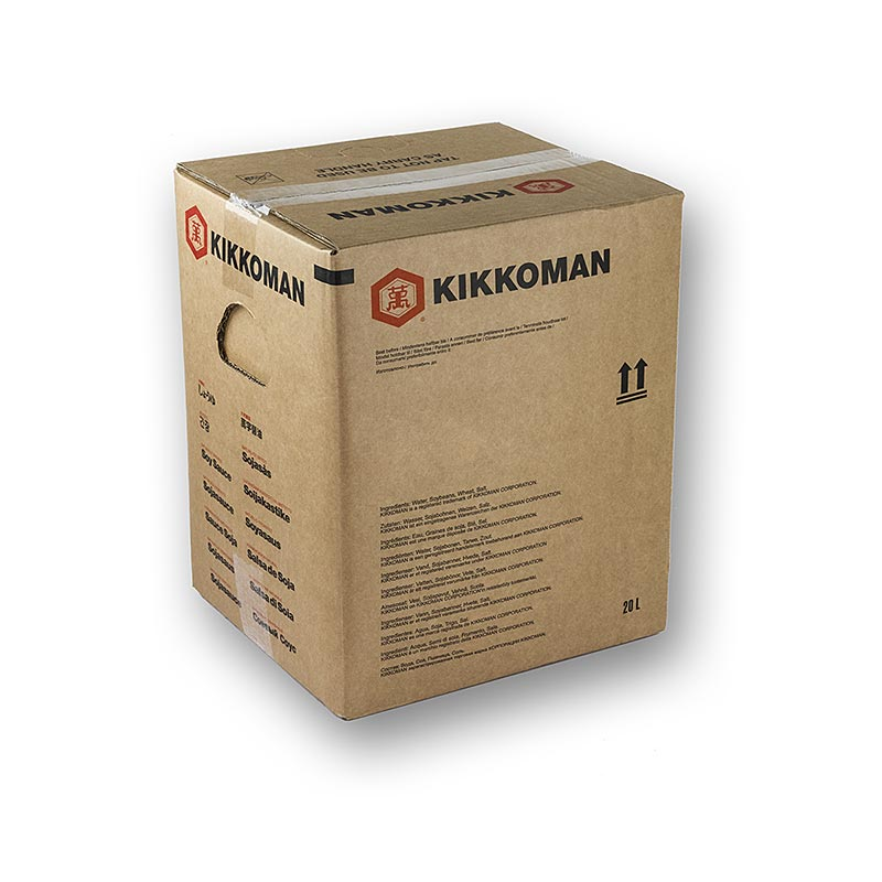 Soja-Sauce - Shoyu, Kikkoman, Japan - 20 l - Bag in box