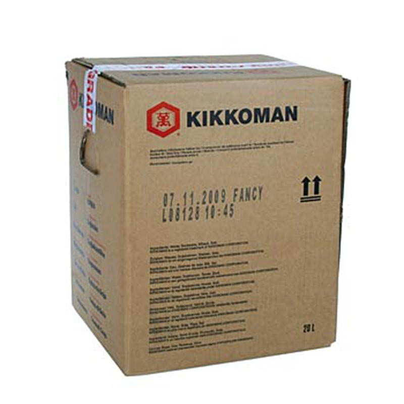 Soja-Sauce - Shoyu Fancy, Kikkoman, Japan - 20 l - Bag in box