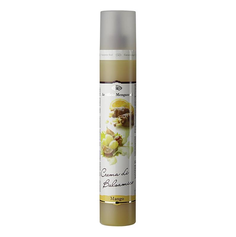 Crema di Balsamico mit Mango, Acetificio Mengazzoli - 320 g - Pe-flasche