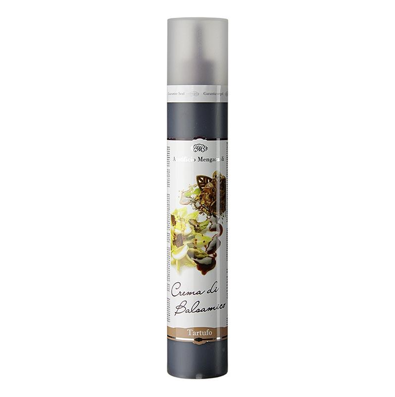 Crema di Balsamico mit Trüffel, Acetificio Mengazzoli - 320 g - Pe-flasche