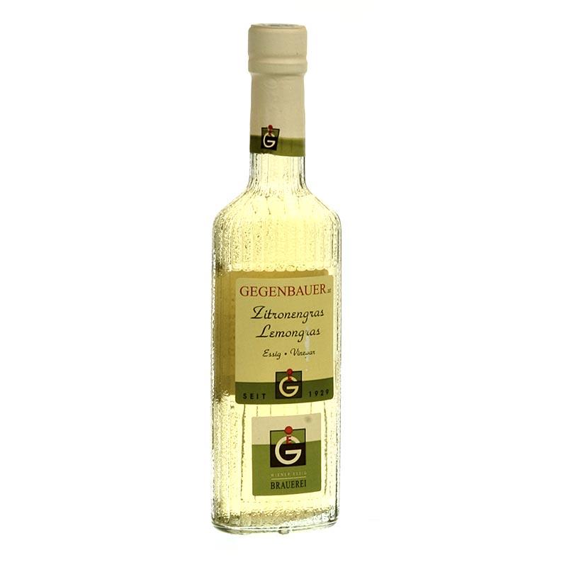 Gegenbauer Frucht-Essig Lemongras, 5% Säure - 250 ml - Flasche