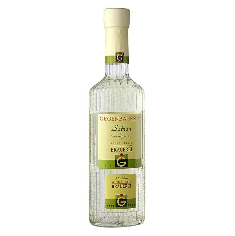 Gegenbauer Safran-Essig, aus pannonischem Safran, 5% Säure - 250 ml - Flasche