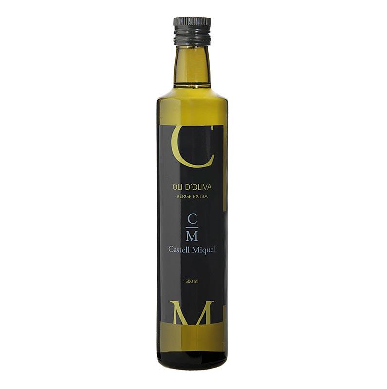 Sierra de Tramuntana, Olivenöl Extra Virgen, Castell Miquel/ Mallorca - 500 ml - Flasche