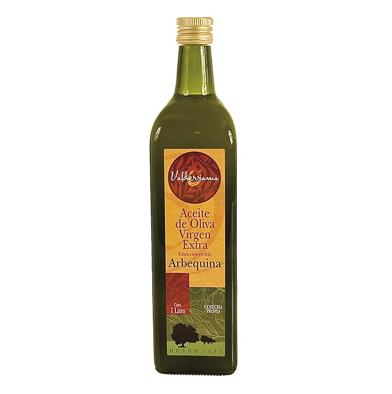 Valderrama, Olivenöl Extra Virgen, 100% Arbequina - 1 l - Flasche