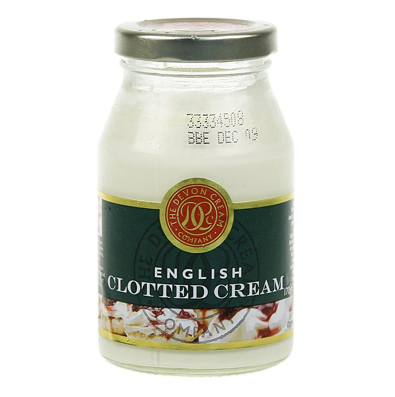 english clotted cream feste rahm creme 55 fett 170 g glas. Black Bedroom Furniture Sets. Home Design Ideas