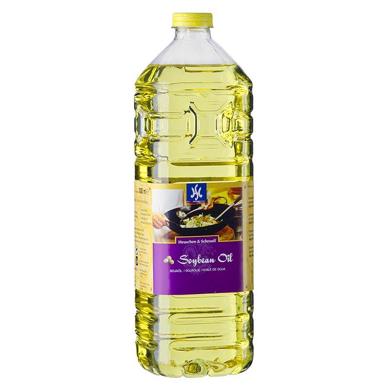 Sojaöl Asia, aus gentechnisch verändertem Soja - 1 l - Pe-flasche