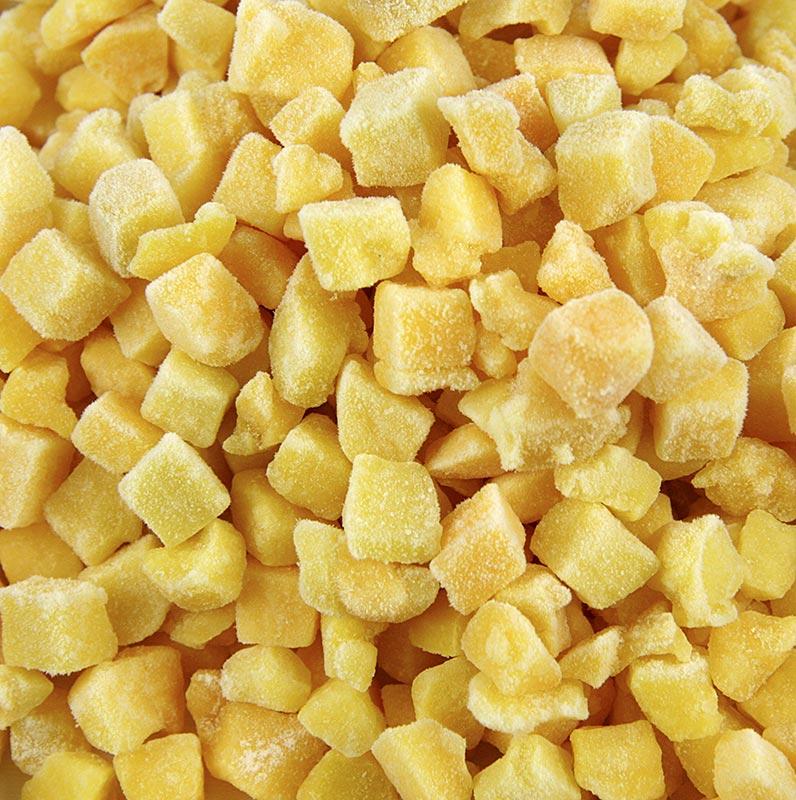 Pfirsich gewürfelt - 10 kg - Beutel