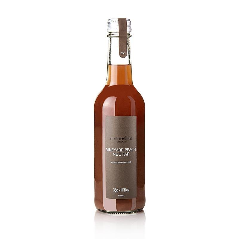 Roter Weinbergspfirsich Nektar, Alain Milliat (Rhone-Alpes) - 330 ml - Flasche