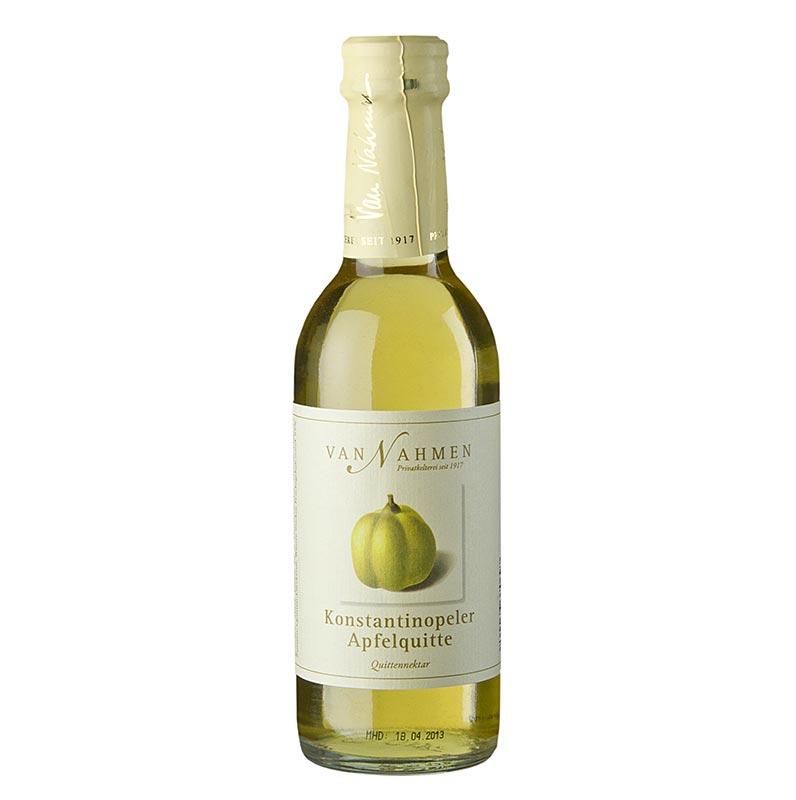van Nahmen - Konstantinopeler Apfelquittennektar, 85% Direktsaft - 250 ml - Flasche