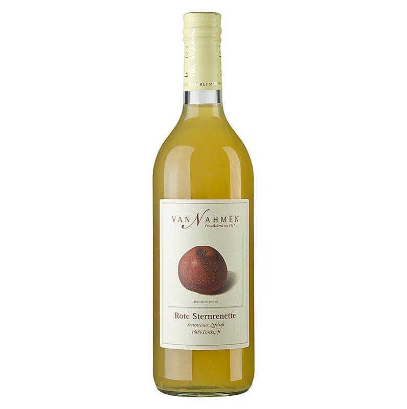 van Nahmen - Roter Sternrenette Apfelsaft, 100% Direktsaft - 750 ml - Flasche