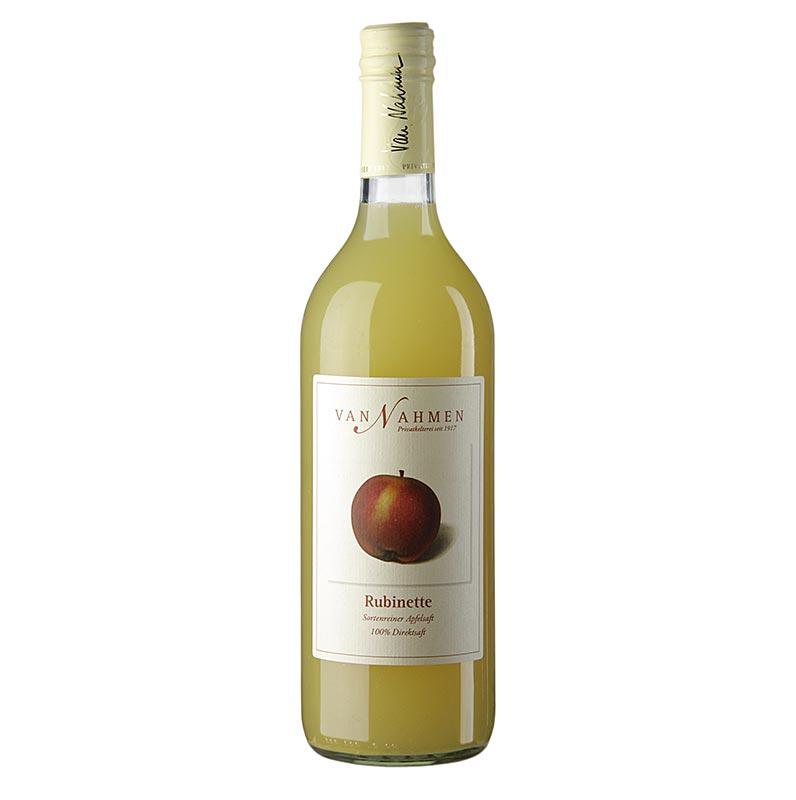 van Nahmen - Rubinette Apfelsaft, 100% Direktsaft - 750 ml - Flasche