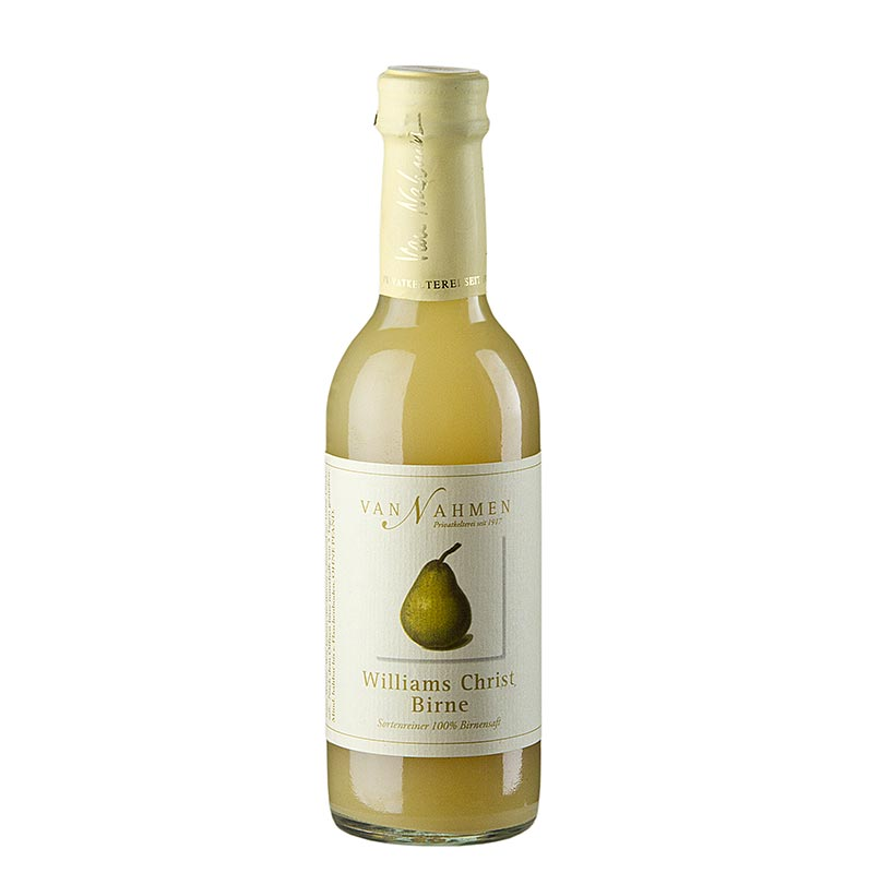 van Nahmen - Williams Christ Birnensaft, 100% Direktsaft - 250 ml - Flasche