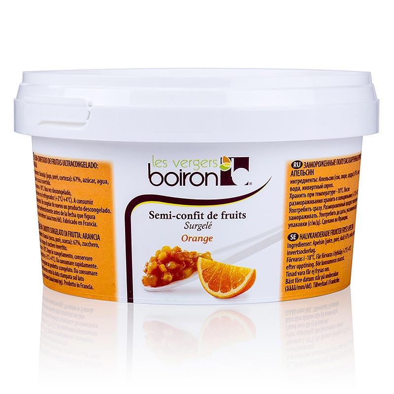 Orange, feingehackt, halbkandiert, Boiron - 500 g - Pe-dose