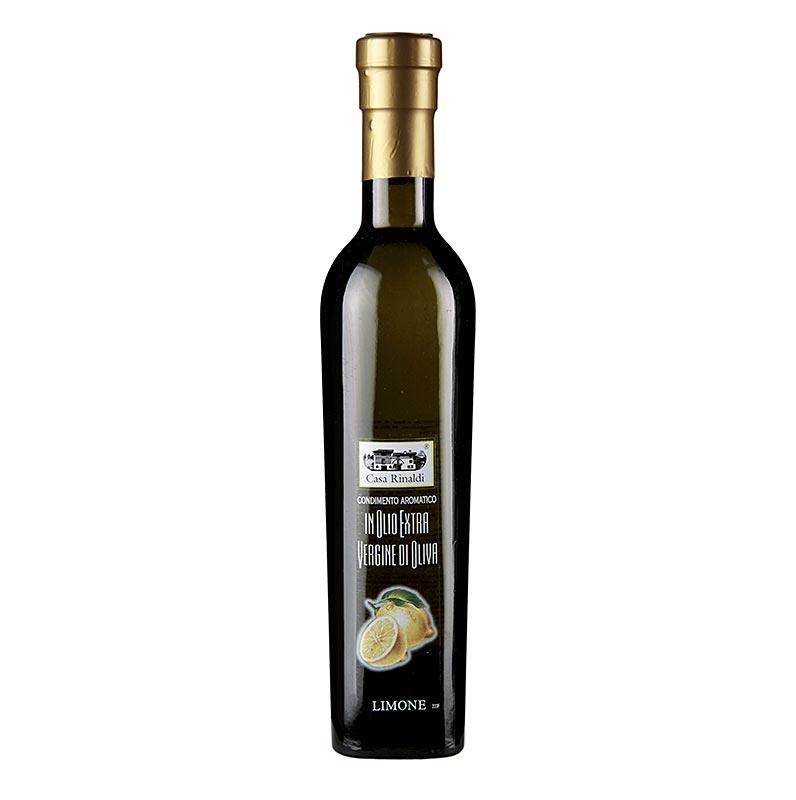 Zitronen-Olivenöl Bellolio, mit Zitronenextrakt, von Casa Rinaldi - 250 ml - Flasche