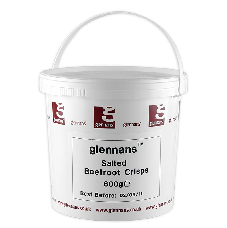 Gemüsechips aus Rote Beete, mit Meersalz Glenanns - 600 g - Pe-eimer