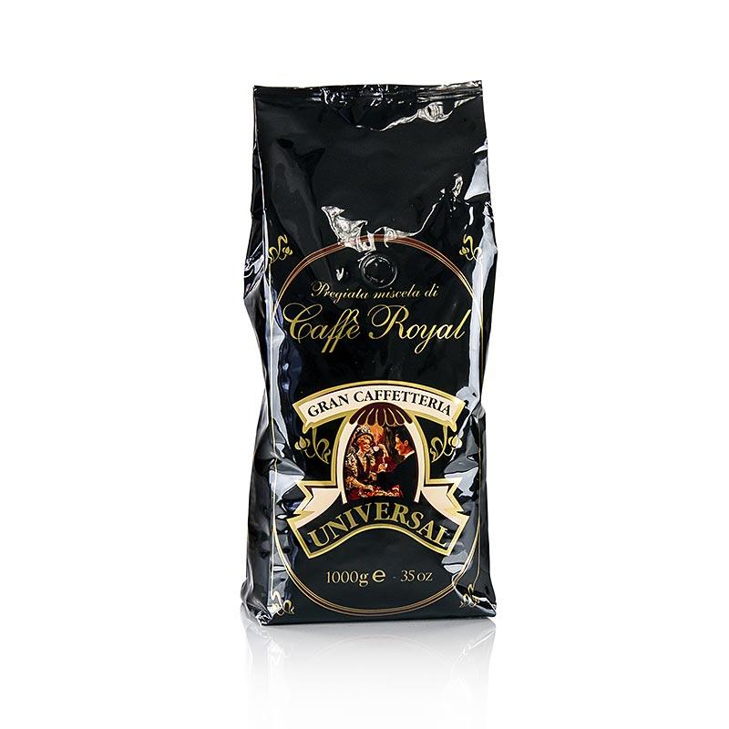 Espresso Universal Royal 100% Arabica, ganze Bohnen - 1 kg - Aromatüte