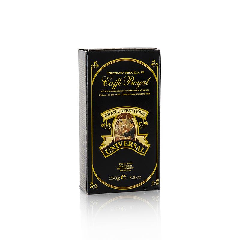 Espresso Universal Royal, 100% Arabica, gemahlen - 250 g - Dose