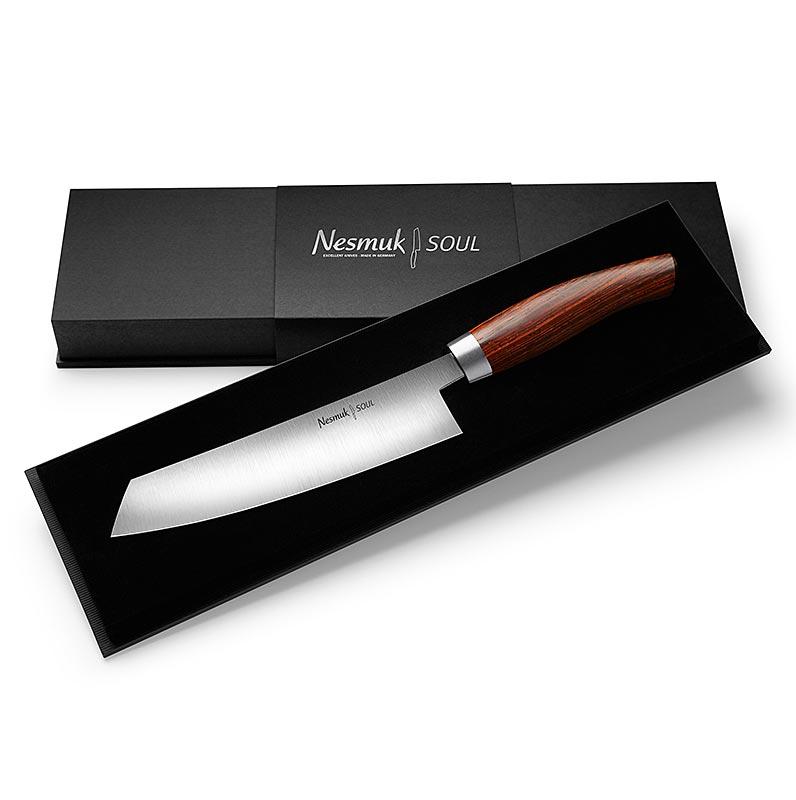 Nesmuk Soul 3.0 Kochmesser, 180mm, Edelstahlzwinge, Griff Cocobolo - 1 St - Schachtel
