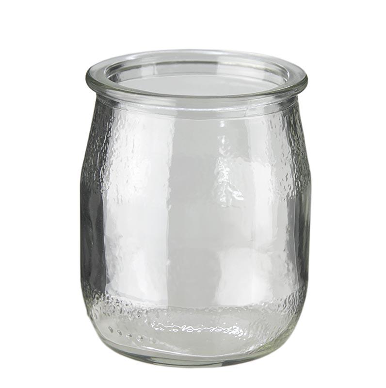 Joghurtglas zum Befüllen, 125 ml Volumen, von 100% Chef - 1 St - Lose