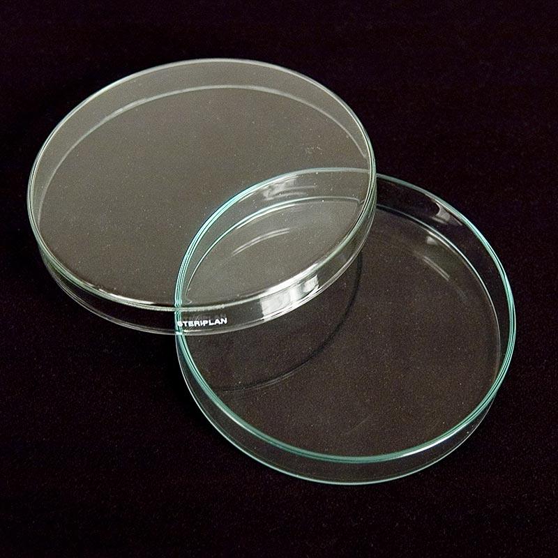 Petrischalen aus Glas, ø 12cm mit Deckel - 1 St - Lose