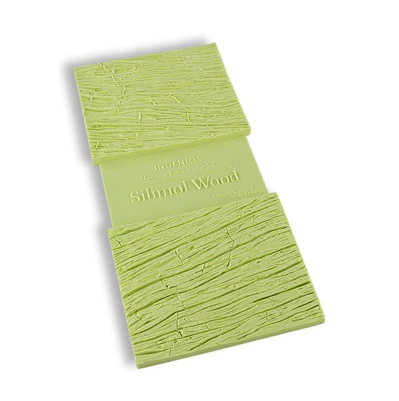 Silimol Wood, Silikonform mit Holzmuster, Texturas Ferran Adria - 1 St - Karton