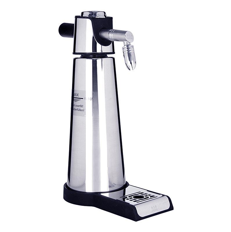 Espuma - Thermo Sprayer Xpress Whip Standgerät, Edelstahl, 1 Liter, schwarz - 1 St - Karton