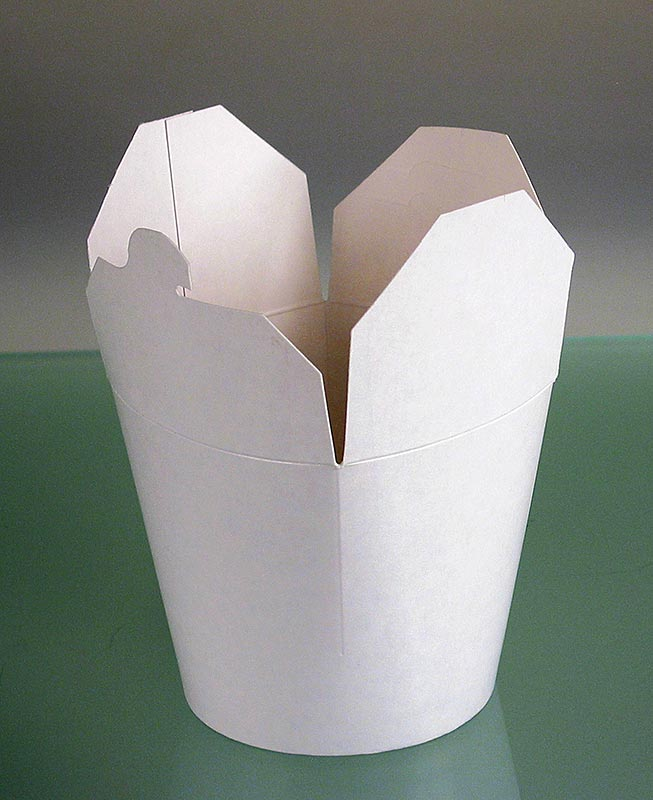Take-away-Box Asia, unbedruckt 750 ml, Fold-Pak - 1 St - Lose