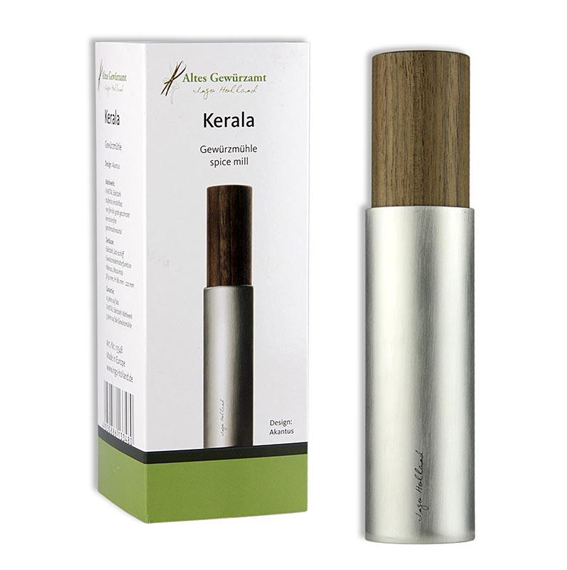 Ingo Holland Edition - Kerala Pfeffermühle, Edelstahl/Walnuss - 1 St - Schachtel