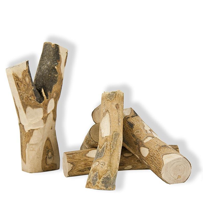 Grillholz Olivenbaum, Massivholzstücke - 1 kg - Beutel
