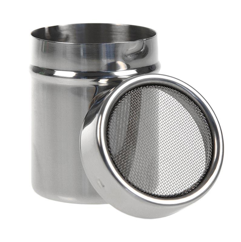 Puderzucker-Streuer Gewürzstreuer, Drahtfeinsieb 1mm, sehr gute Qualität - 1 St - Lose