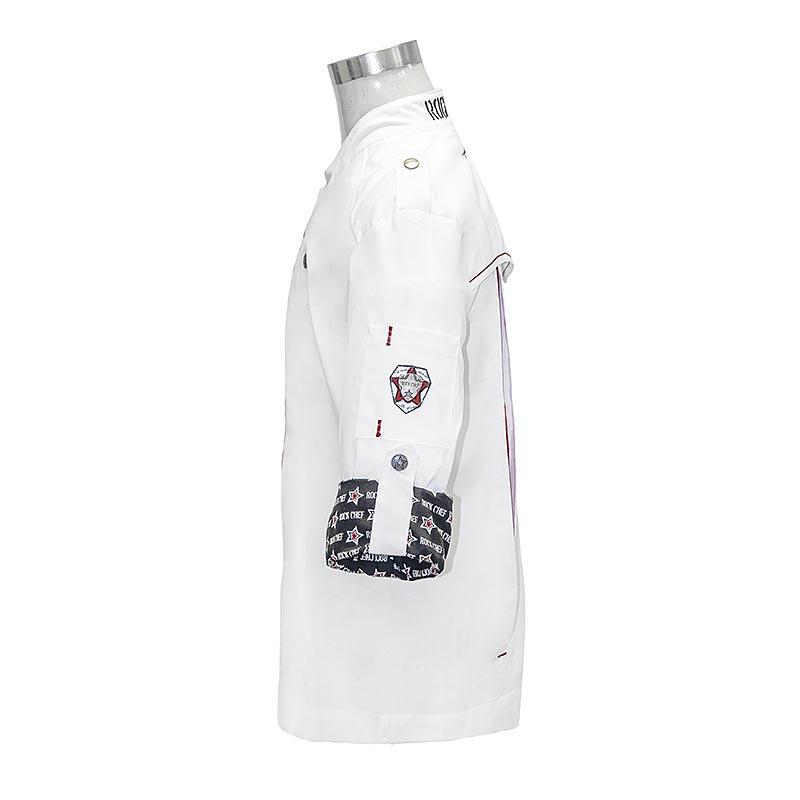 Kochjacke Rock Chef ® Gr. 52, weiß, Karlowsky - 1 St - Folie