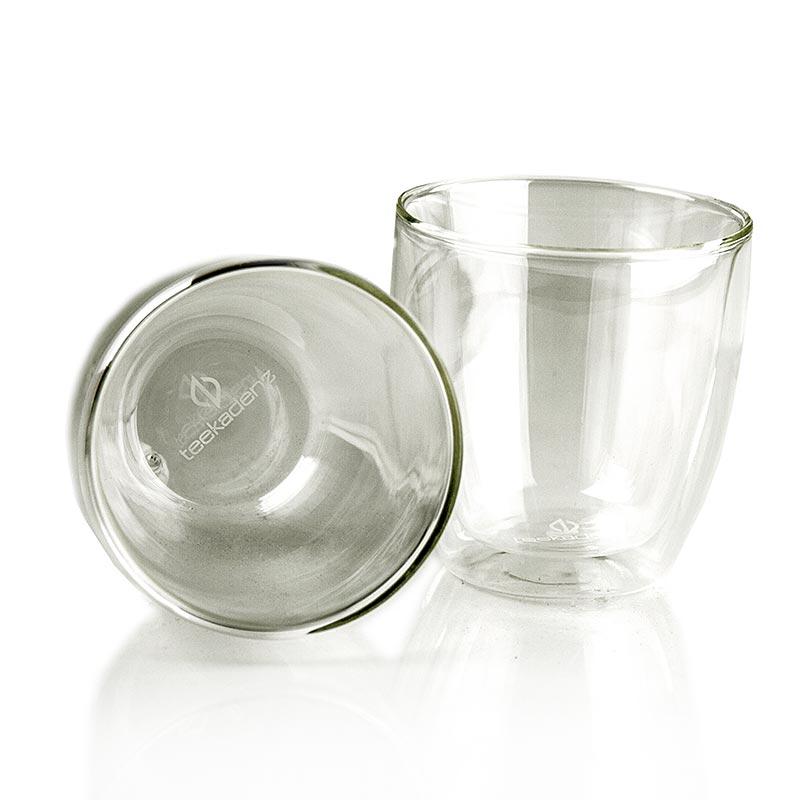 Teekadenz Doppelwand Teeglas Luxury - 2 St - Karton