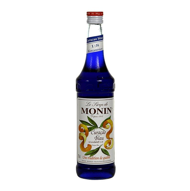 Curasao blau Sirup Monin - 700 ml - Flasche