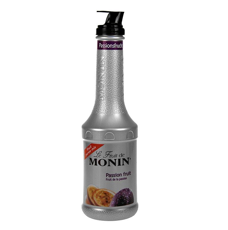 Monin Fruchtpüreemix - Passionsfrucht, mit Ausgießer - 1 l - Pe-flasche