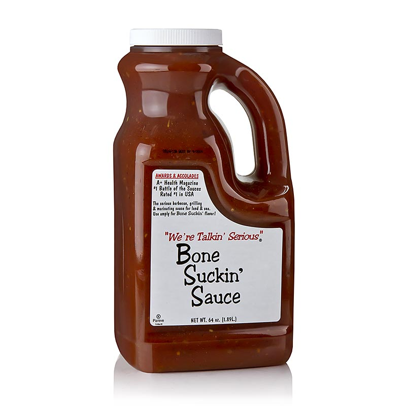 Bone Suckin Sauce Regular, BBQ Sauce, Fords Food - 1,89 l - Kanister