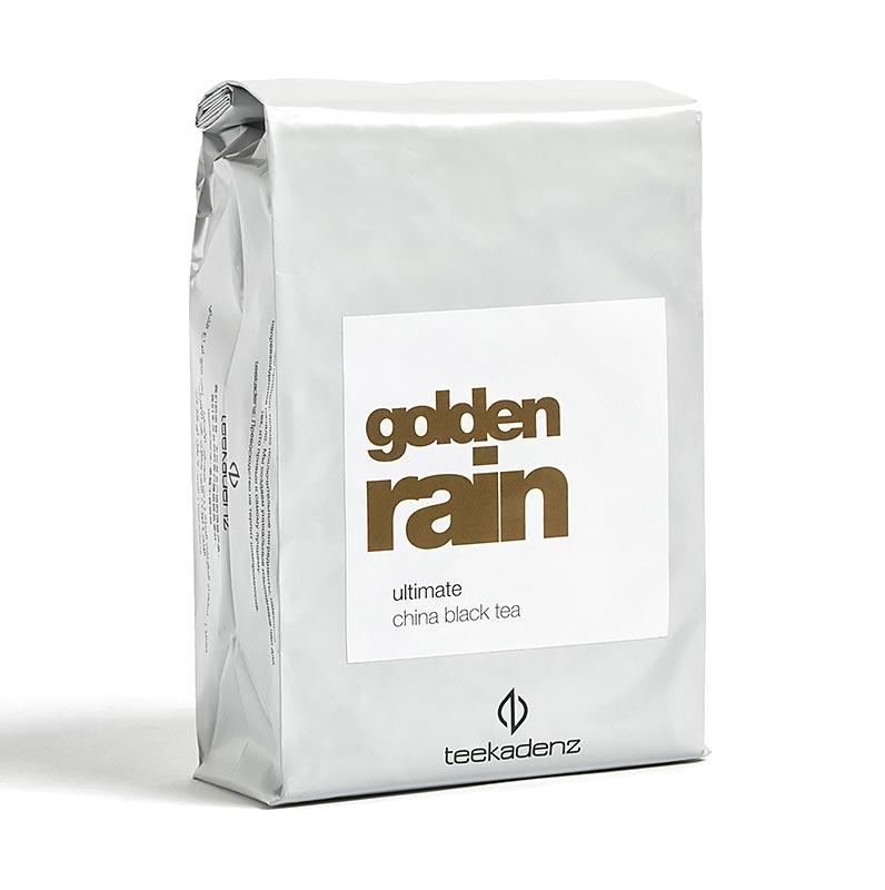 Teekadenz - Ultimate Serie - Golden Rain, chinesischer Schwarztee, China, Beutel - 60 g, 24 St a 2,5 g - Aromatüte