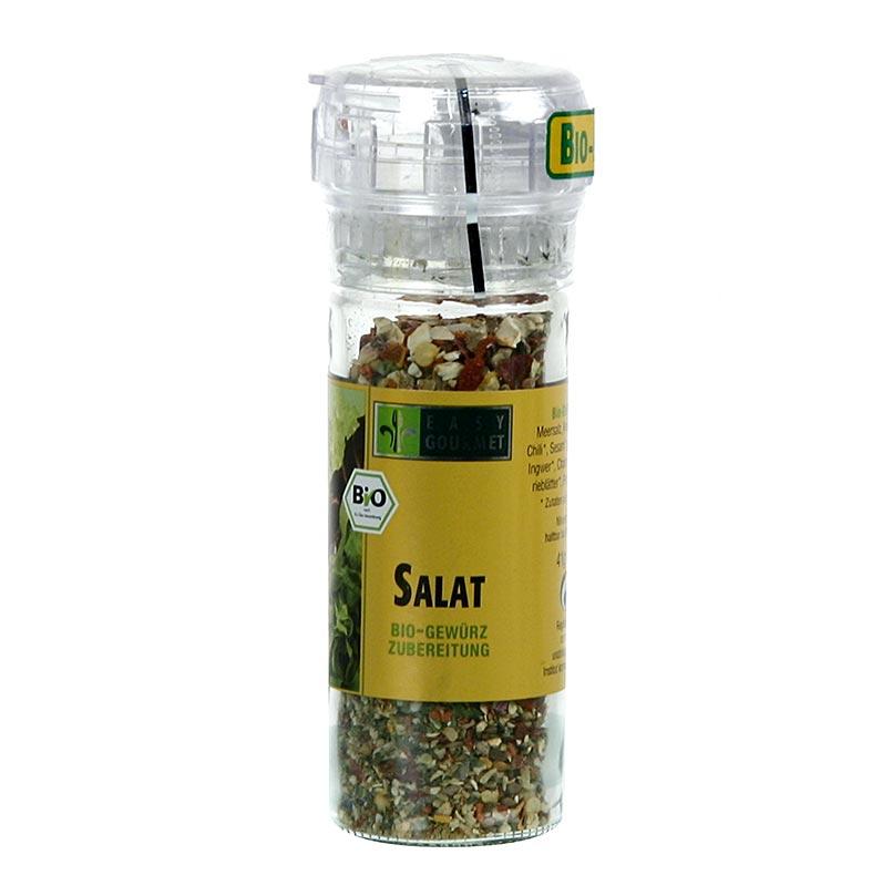 Easy Gourmet-Gewürzmühle Salat, Gewürzzubereitung, BIO - 41 g - Mühle