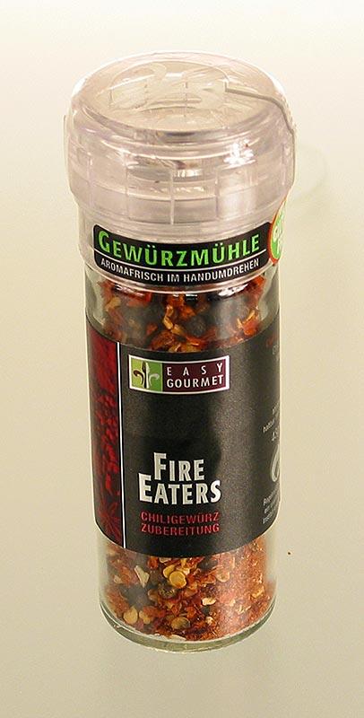 Gourmet-Gewürzmühle Fire Eaters, Easy Gourmet - 46 g - Mühle