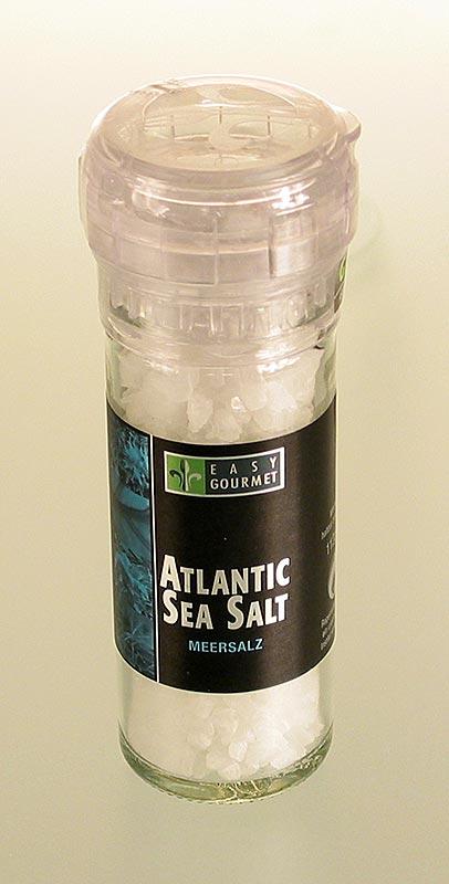 Gourmet-Gewürzmühle Atlantic Seasalt, Easy Gourmet - 106 g - Mühle
