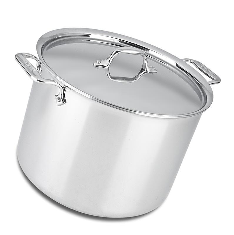 ALL-CLAD - Fleisch- und Gemüsetopf, Indukltion, STAINLESS® (Edelstahl) - 27,0 cm Ø - Karton
