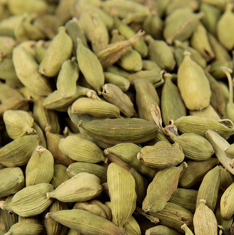 Cardamom, ganze Kapseln, grün - 1 kg - Beutel
