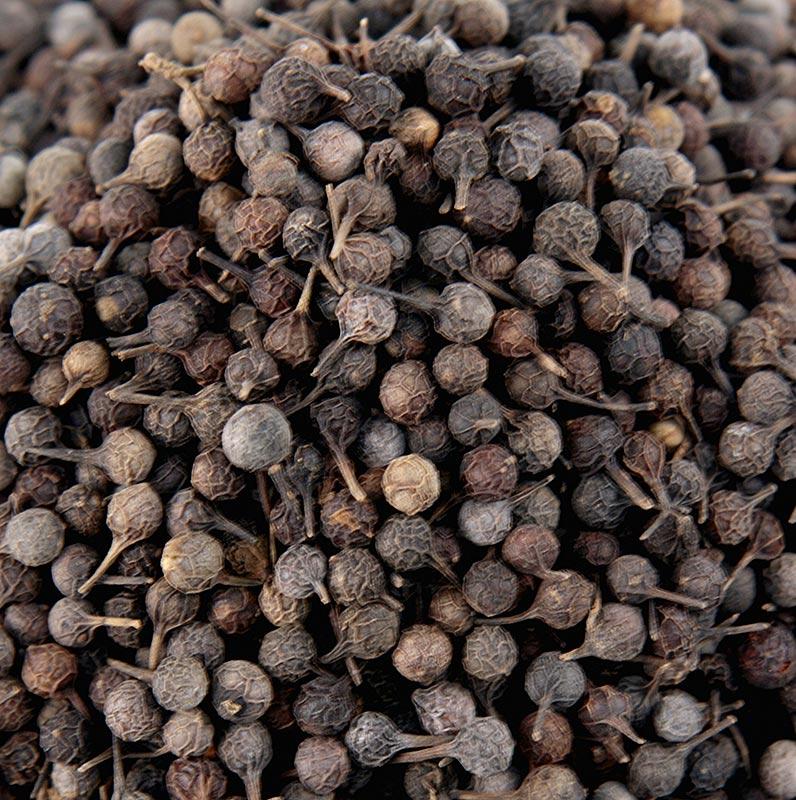 Kubebenpfeffer - Javanischer Pfeffer, auch Schwanzpfeffer/Stielpfeffer genannt - 1 kg - Beutel