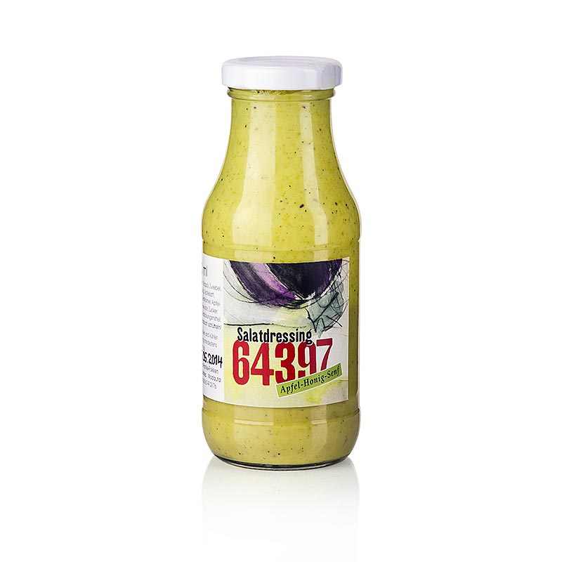 64397 salatdressing apfel honig senf 240 ml flasche. Black Bedroom Furniture Sets. Home Design Ideas