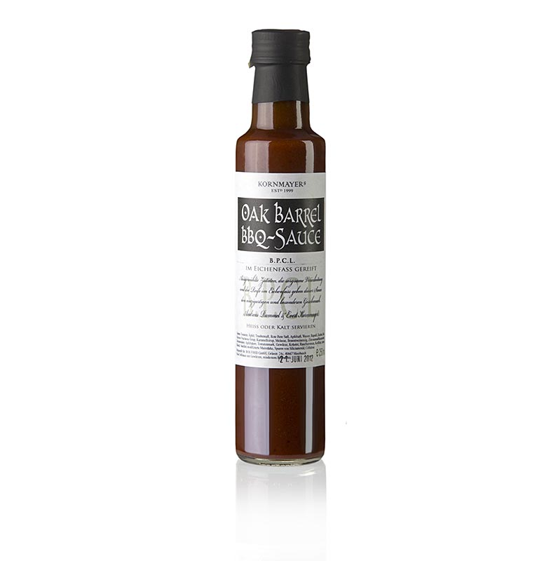 Kornmayer Oak Barrel BBQ Sauce - 250 ml - Flasche
