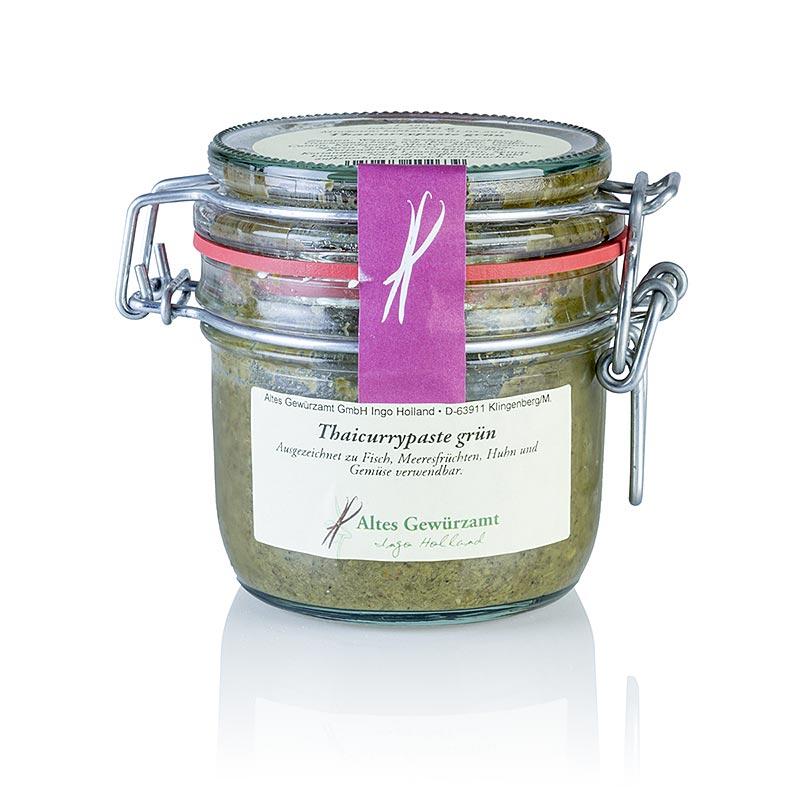 Thai-Currypaste grün, Altes Gewürzamt, Ingo Holland - 200 g - Glas